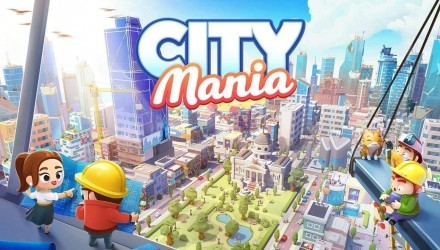 City Mania: Town Building Game Featured